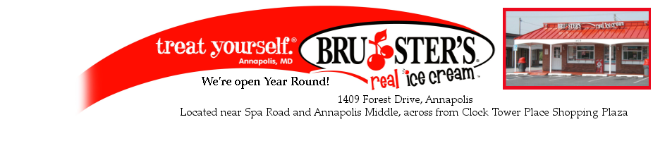 Brusters Annapolis Header
